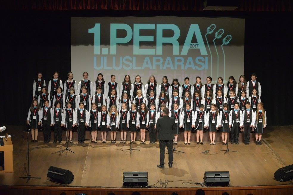 Pera Koro Festivali Fotoğrafı